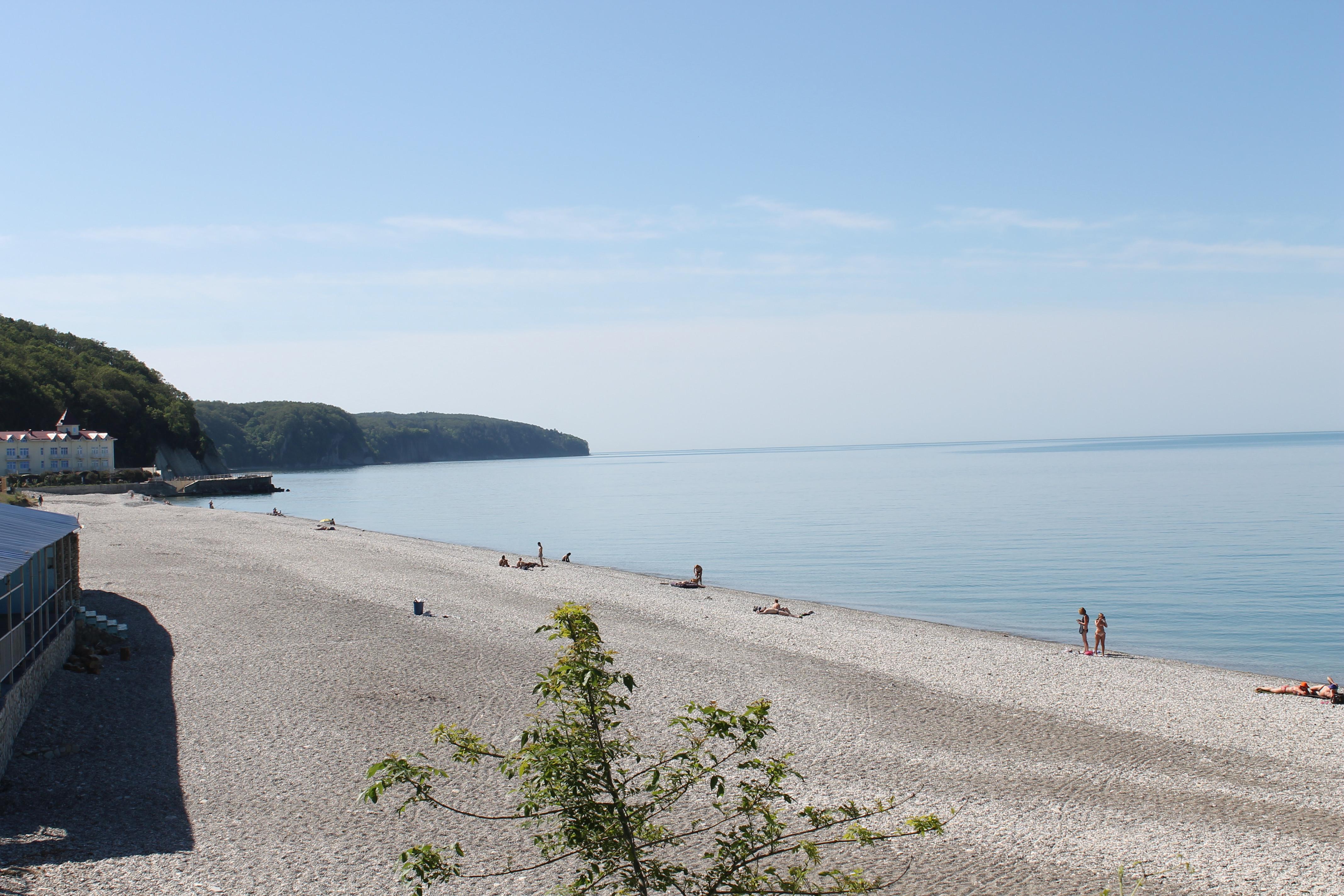 Центральный пляж агой фото
